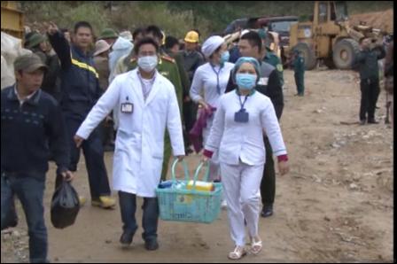 Tình trạng sức khỏe của 12 nạn nhân vụ sập hầm thủy điện
