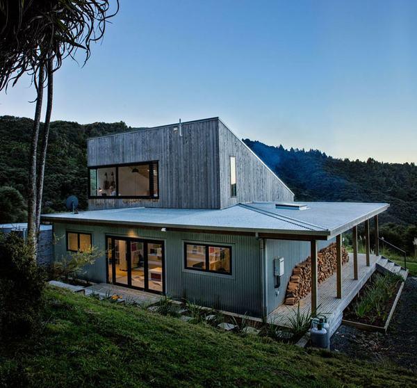 Ngôi nhà nhỏ hiện đại ở New Zealand