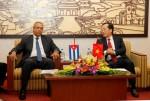 Bộ trưởng Phạm Hồng Hà tiếp Thứ trưởng Bộ Ngoại thương và Đầu tư nước ngoài Cuba