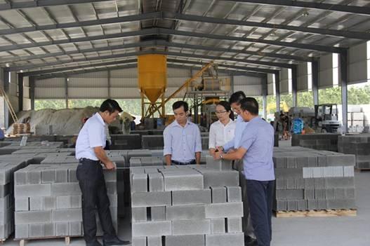 Thanh Hóa: Đẩy mạnh phát triển sản xuất vật liệu không nung