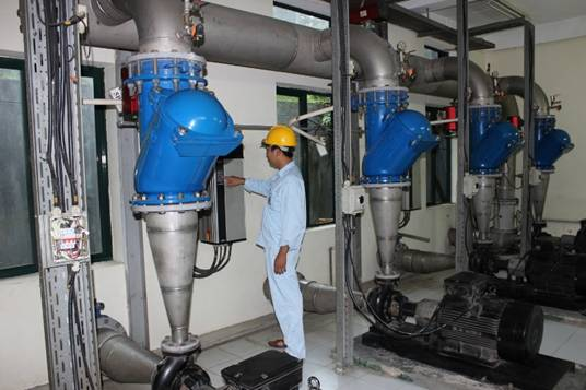 Cty CP Cấp thoát nước số 1 Vĩnh Phúc: Luôn đáp ứng đủ nhu cầu nước sạch của khách hàng