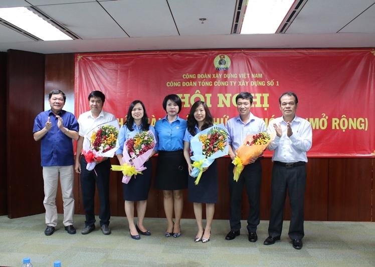 Bà Vũ Thị Tố Tâm được bầu làm Chủ tịch Công đoàn Tổng Cty CC1 nhiệm kỳ 2017 - 2022
