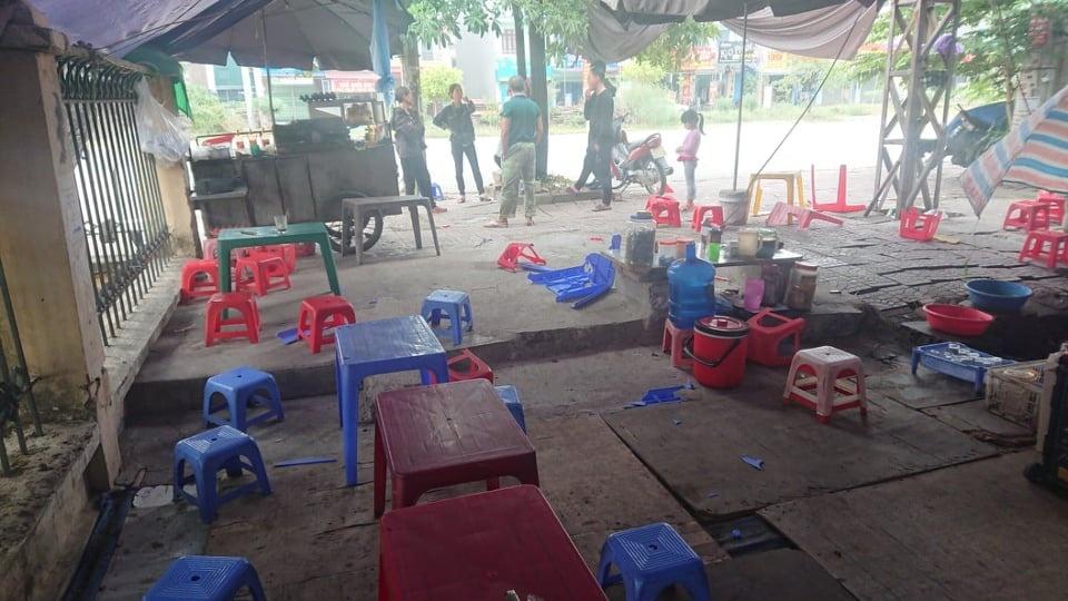 Việt Yên (Bắc Giang): Xuất hiện nhóm côn đồ lạ mặt, đập phá hàng quán hành hung người dân