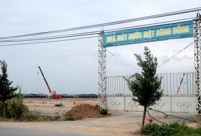 Nhà máy nước mặt sông Hồng: Tiến độ 'rùa' và an ninh nguồn nước