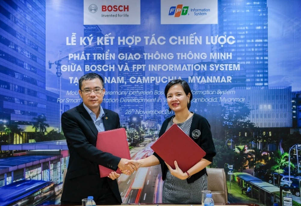 Boch phối hợp với FPT cung cấp giải pháp thông minh cho Việt Nam, Campuchia và Myanmar