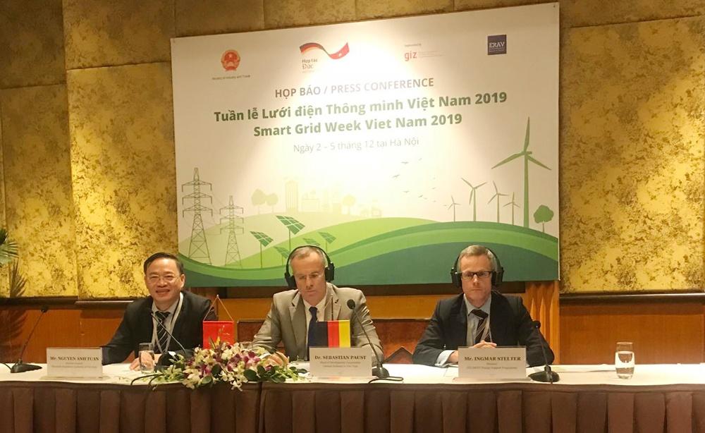Khai mạc tuần lễ lưới điện thông minh Việt Nam 2019