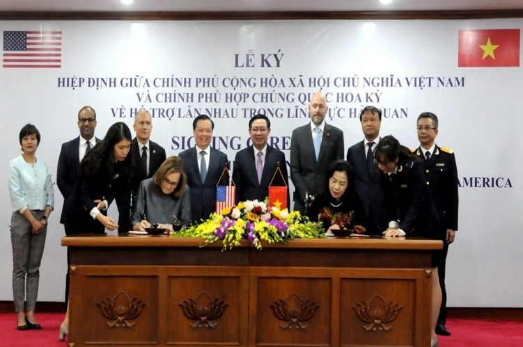 Việt Nam – Hoa Kỳ ký kết Hiệp định hỗ trợ lẫn nhau trong lĩnh vực hải quan