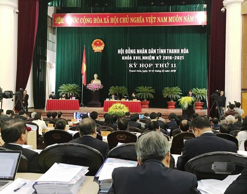 Thanh Hóa: Khai mạc kỳ họp thứ 11, HĐND tỉnh khóa XVII
