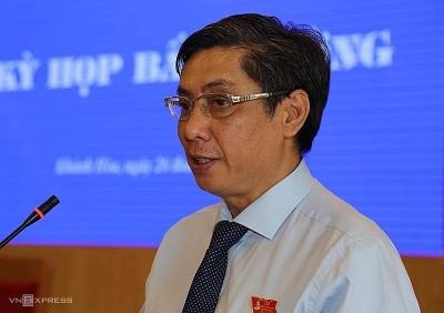 Chủ tịch tỉnh Khánh Hoà bị cách chức