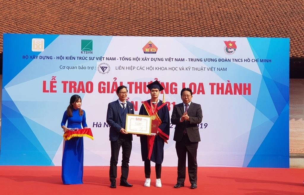39 đồ án được trao giải tại giải thưởng Loa Thành lần thứ 31