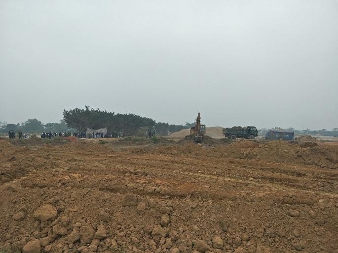 Vĩnh Tường (Vĩnh Phúc): Cưỡng chế thu hồi đất 8 hộ gia đình tại Cụm công nghiệp Đồng Sóc