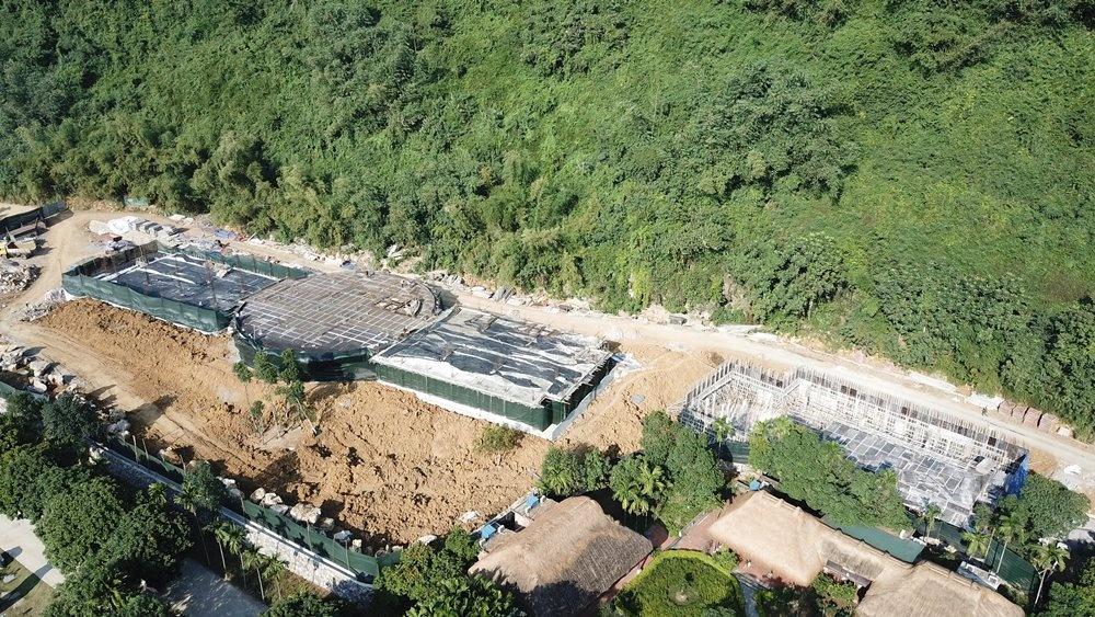 Ninh Bình: Cận cảnh công trình trái phép trong vùng lõi di sản Tràng An