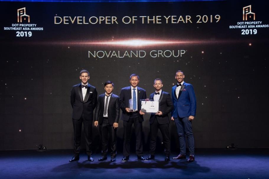 Novaland được vinh danh là nhà phát triển bất động sản tốt nhất Đông Nam Á
