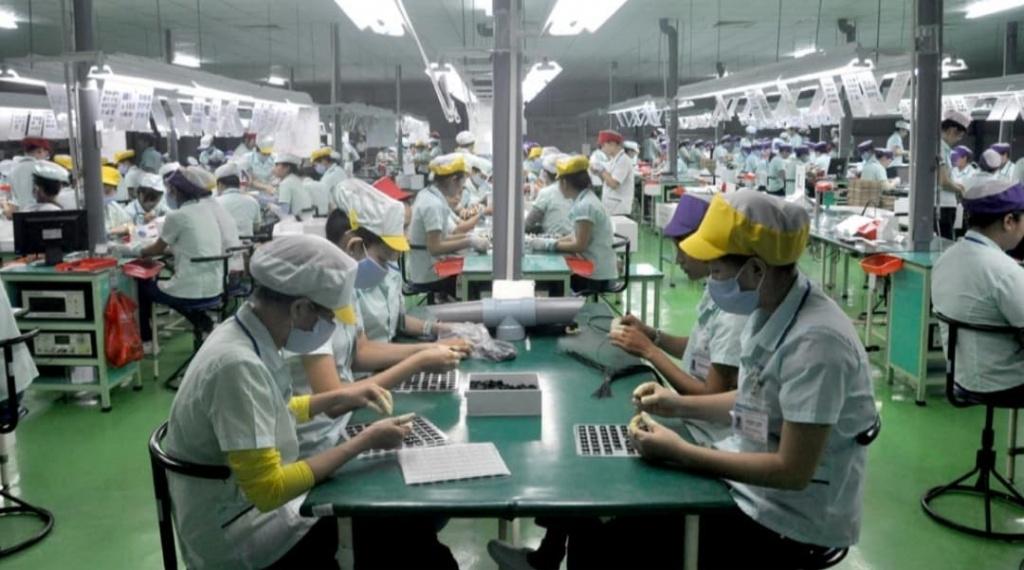 Phú Thọ: Sản xuất công nghiệp tăng trưởng 12,8%