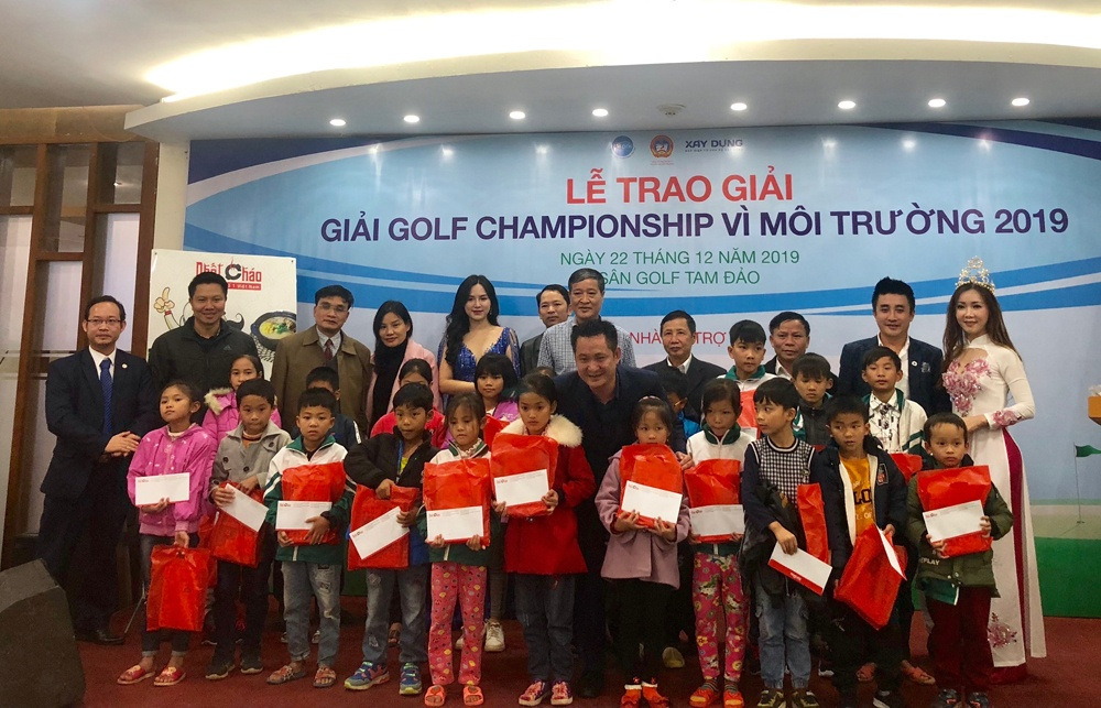 """Giải Golf Championship """"Vì môi trường 2019"""" lần thứ I: Gắn kết cộng đồng, ủng hộ các trẻ em nghèo có hoàn cảnh khó khăn"""