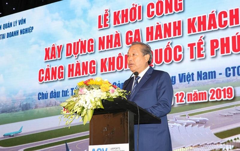 pho thu tuong thuong truc du khoi cong mo rong san bay quoc te phu bai