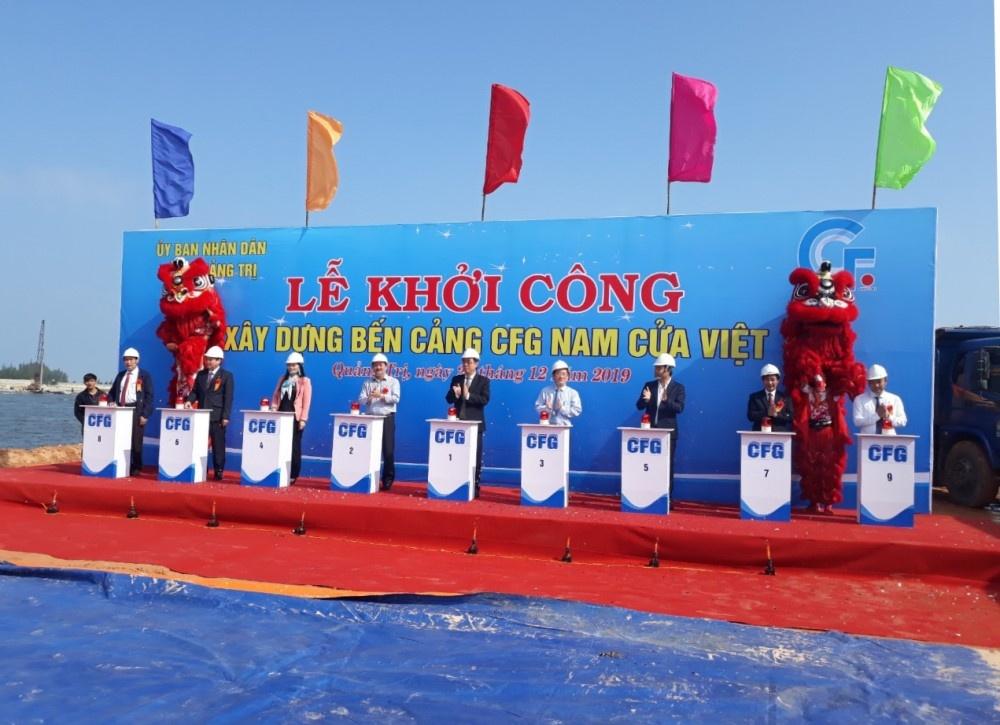 Quảng Trị: Khởi công xây dựng Bến cảng CFG Nam Cửa Việt
