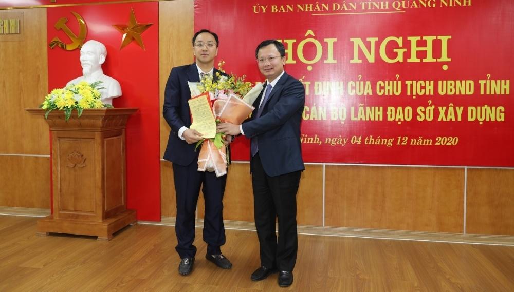 Sở Xây dựng Quảng Ninh có tân Phó Giám đốc