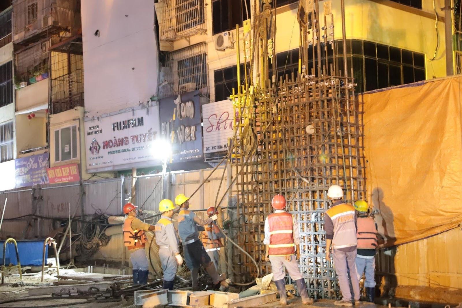 FECON tham gia lắp ráp và vận hành robot khoan hầm TBM tại dự án Metro Line 3 Hà Nội