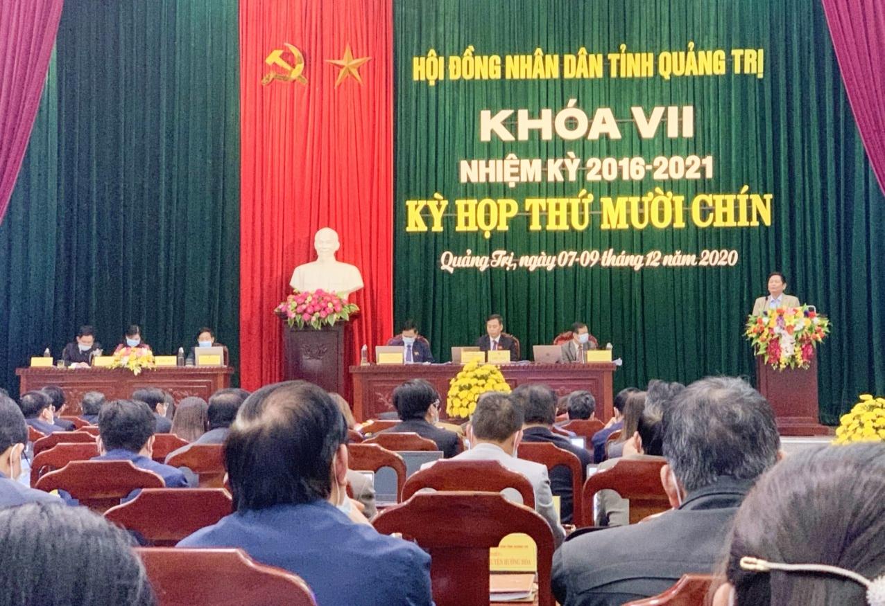 Quảng Trị: HĐND tỉnh đã điều chỉnh chủ trương đầu tư năm 2021