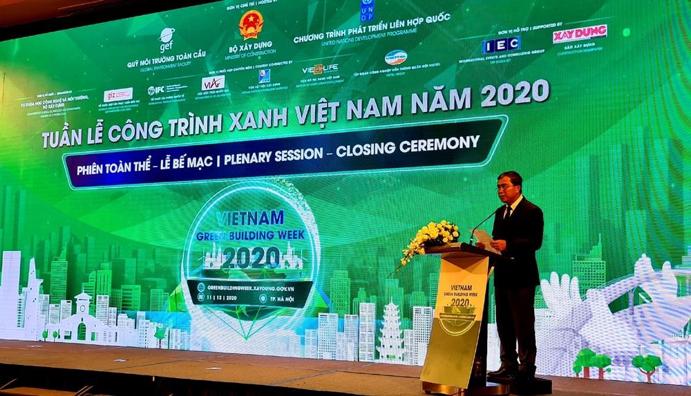 Bế mạc Tuần lễ Công trình xanh Việt Nam 2020
