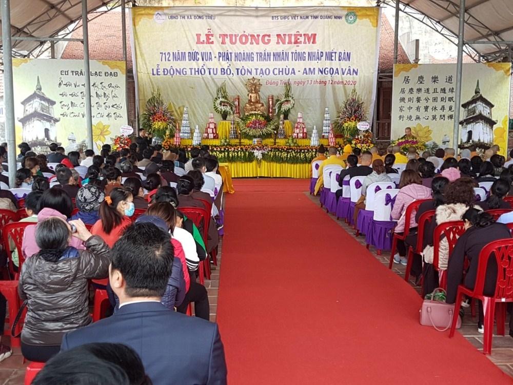 Quảng Ninh: Khởi công trùng tu am Ngoạ Vân