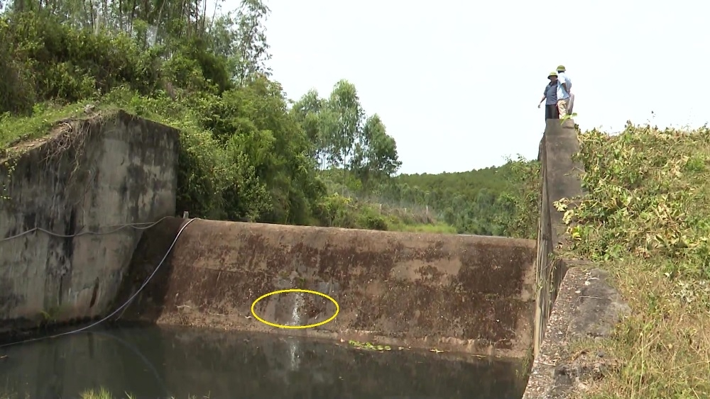 Quảng Bình: Tập trung khắc phục các công trình thủy lợi hư hỏng