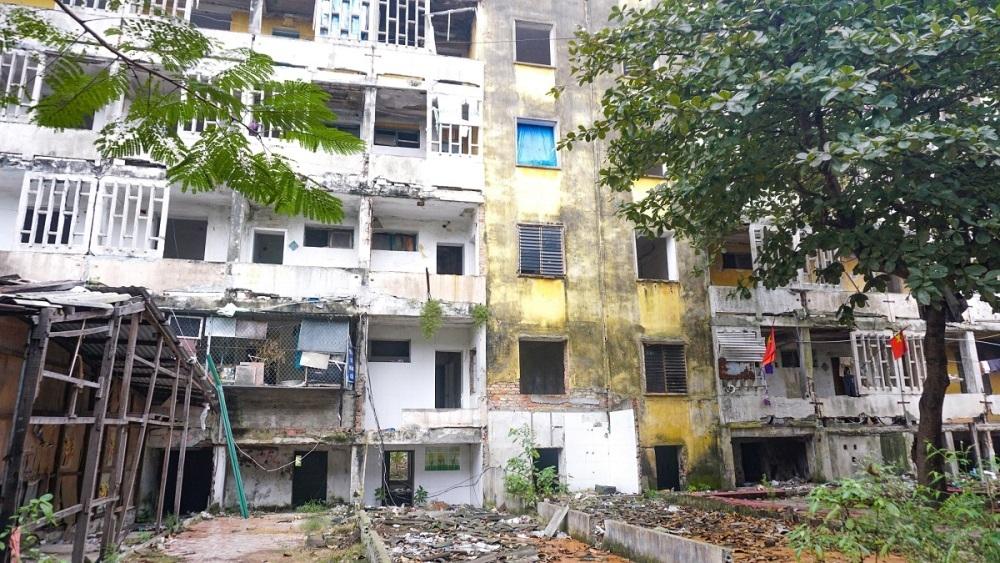 Nghệ An: Lập phương án cưỡng chế, phá dỡ chung cư có mức độ nguy hiểm cấp độ D