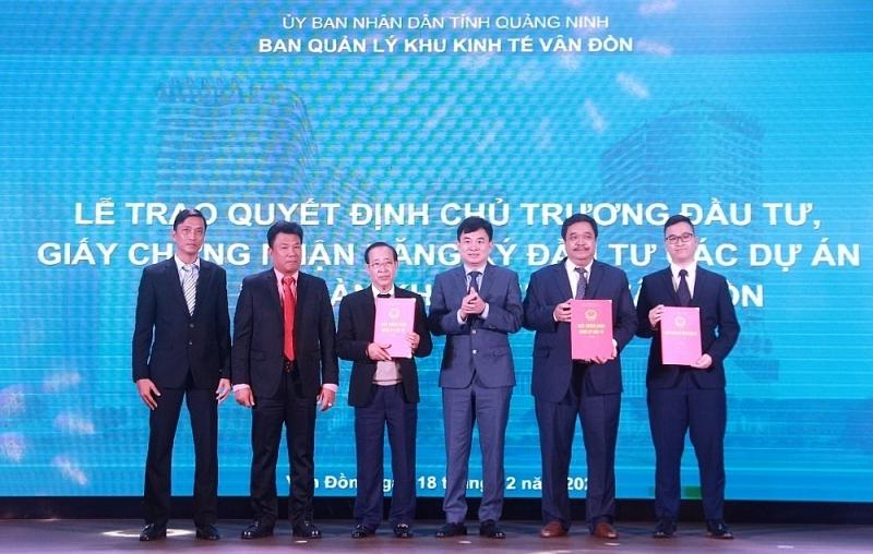 Quảng Ninh: Công bố quy hoạch 3 phân khu thuộc Khu kinh tế Vân Đồn