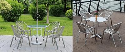 5 vật liệu phổ biến giúp thiết kế bàn ghế ngoài trời bền đẹp