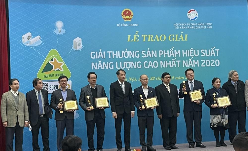 Lễ trao giải Sản phẩm hiệu suất năng lượng cao nhất năm 2020