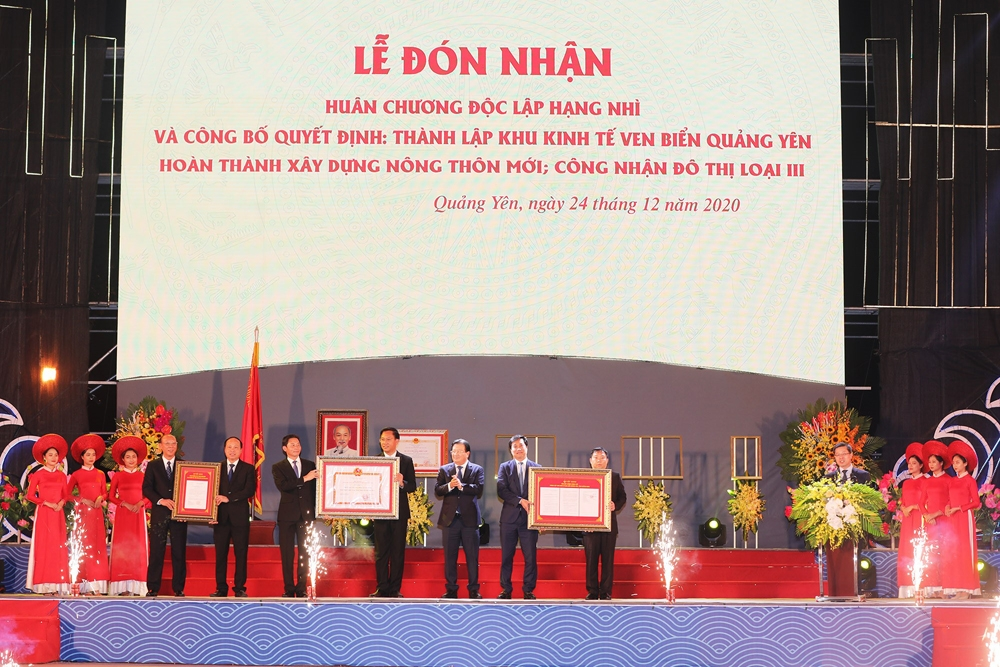 Quảng Yên (Quảng Ninh): Công bố thành lập Khu kinh tế ven biển