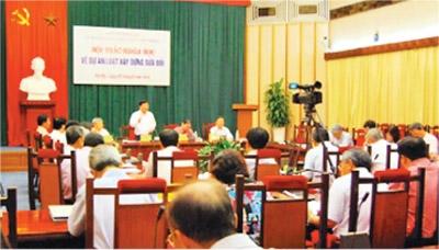 Dự thảo luật xây dựng sửa đổi: Kỳ vọng lớn