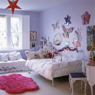 f1 Thiết kế và trang trí phòng ngọt ngào cho công chúa nhỏ