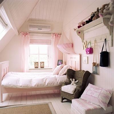 f6 Thiết kế và trang trí phòng ngọt ngào cho công chúa nhỏ