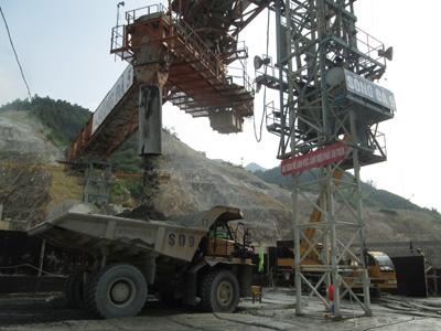 Tháng Tám trên công trình thủy điện Lai Châu
