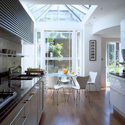 b6 Gợi ý sử dụng vật liệu kính, thủy tinh, pha lê trang trí nhà