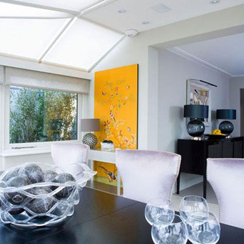 b8 Gợi ý sử dụng vật liệu kính, thủy tinh, pha lê trang trí nhà