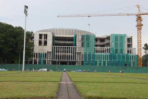Công trình Nhà Quốc hội: Rút ngắn tiến độ