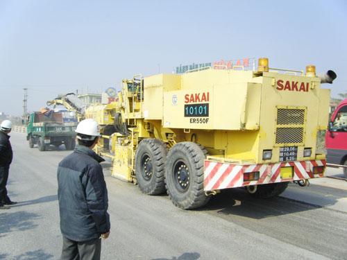 Giải pháp sửa chữa đường bộ theo công nghệ tiên tiến