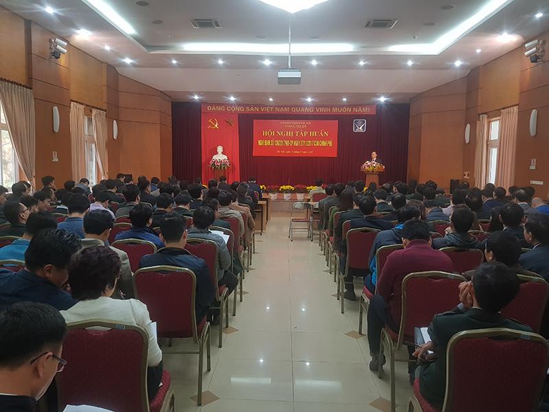 Sở Xây dựng Hà Nội tổ chức Hội nghị tập huấn Nghị định số 139/2017/NĐ-CP