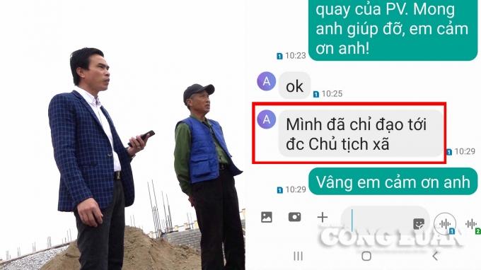 Tiền Hải (Thái Bình): Chủ tịch huyện chỉ đạo, xã và nhà thầu bất tuân theo?