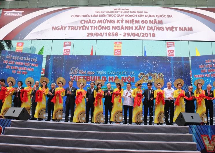 Triển Lãm Quốc tế Vietbuild Hà Nội 2018: Nơi hội nhập Công nghệ đỉnh cao