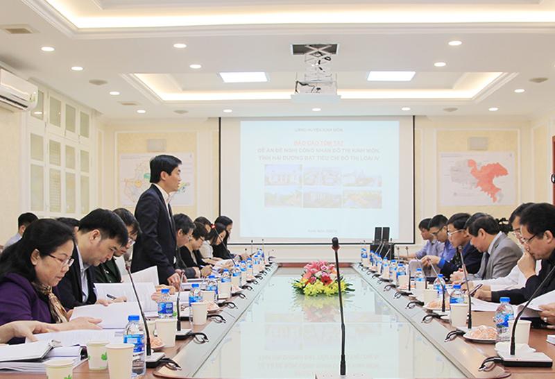 Kinh Môn (Hải Dương): Đạt tiêu chí đô thị loại IV