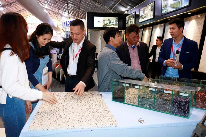 Conslab Thạch Anh chính thức ra mắt thị trường trong nước tại Vietbuild Hà Nội