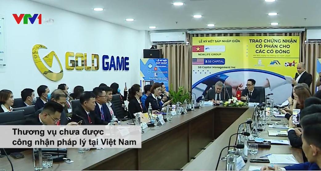 Mập mờ giấy chứng nhận cổ phần tại Gold Game Việt Nam