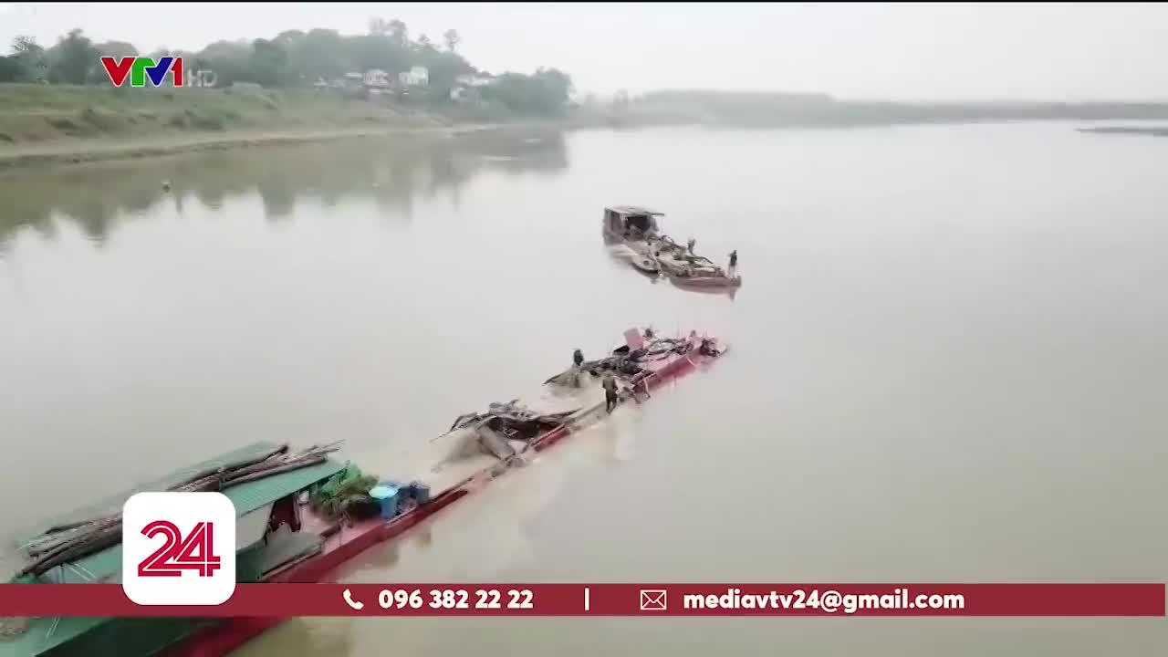 Thanh Hóa: Bất lực trước tình trạng khai thác cát trái phép