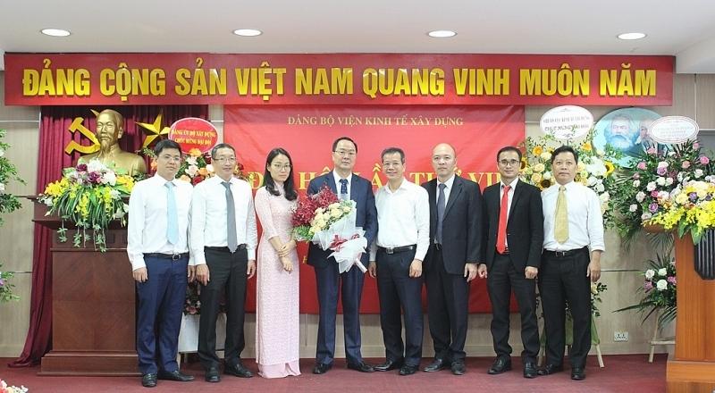 Viện Kinh tế xây dựng tổ chức thành công Đại hội Đảng bộ lần thứ VII