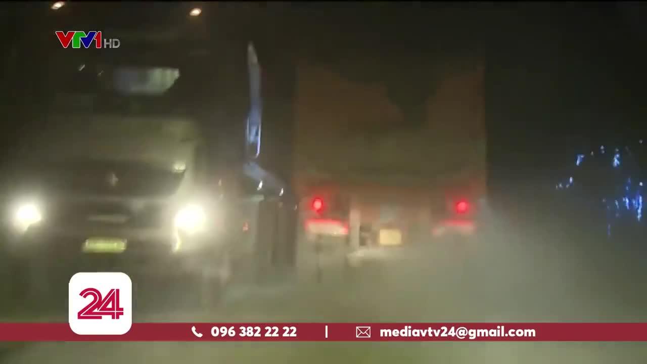 """Xe cát quá tải """"lộng hành"""" trên cung đường Thanh Hóa - Ninh Bình"""