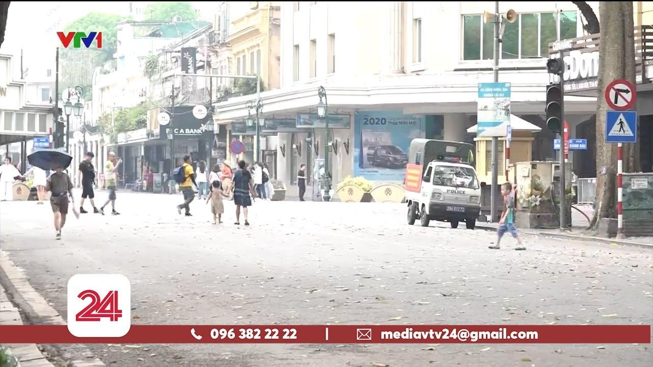 Hà Nội xử lý nghiêm các phương tiện di chuyển trong phố đi bộ